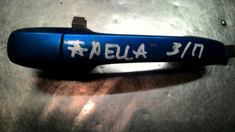 Ручка двери наружняя Mazda Axela BK Z6 задняя правая