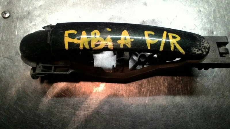 Ручка двери наружняя Skoda Fabia 6Y3 BBY передняя правая