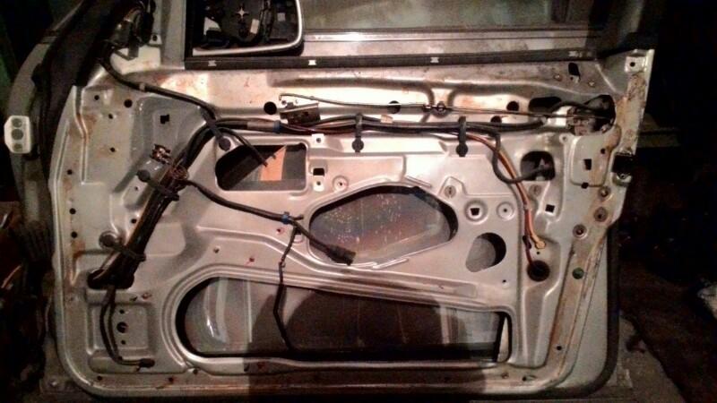 Дверь боковая Mercedes-Benz S-Class W140 M119 E42 передняя правая