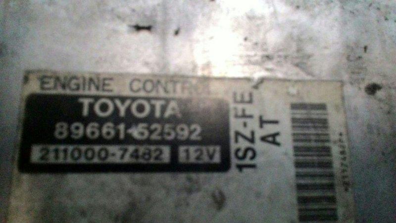 Блок управления двс Toyota Vitz SCP10 1SZFE