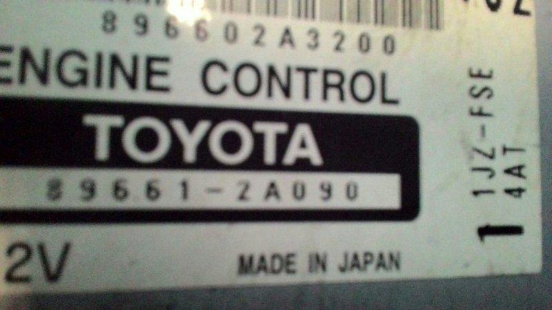 Блок управления двс Toyota Mark Ii JZX100 1JZ FSE