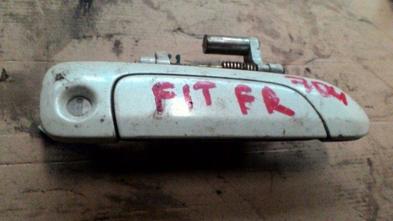 Ручка двери наружняя Honda Fit GD1 L13A передняя правая