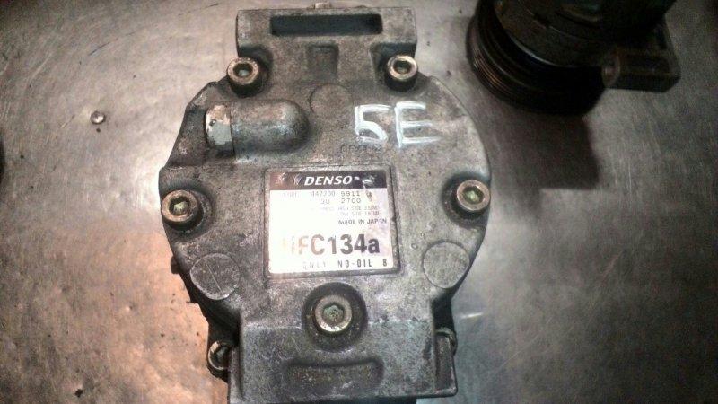 Компрессор кондиционера Toyota Raum EXZ10 5Е-FE