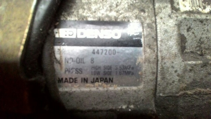 Компрессор кондиционера Toyota Markii JZX100 1JZGE