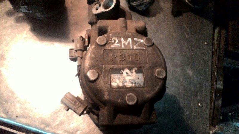 Компрессор кондиционера Toyota Windom MCV21 2MZ FE