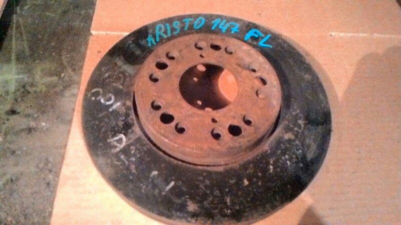 Тормозной диск Toyota Aristo передний