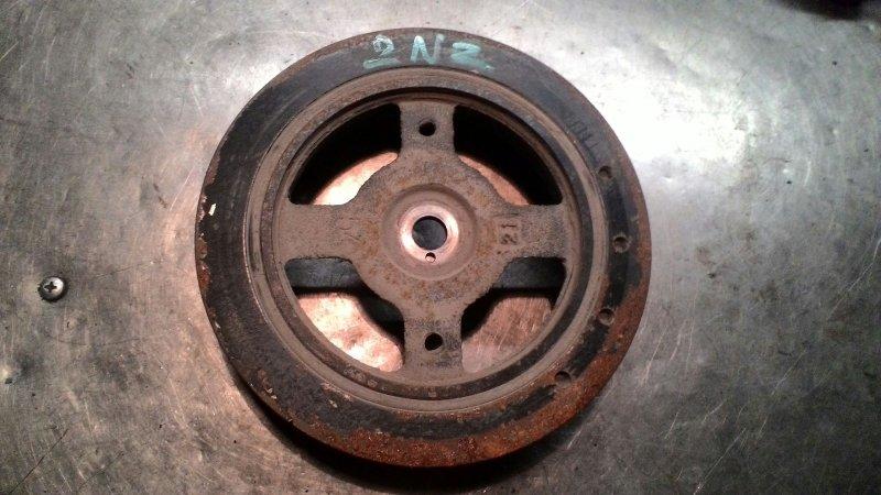 Шкив коленвала Toyota Corolla NZE121 2NZFE