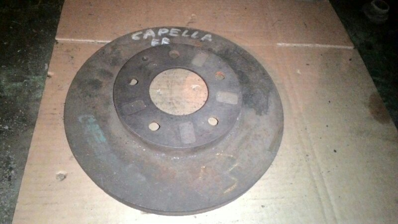 Тормозной диск Mazda Capella GF8P FSDE передний