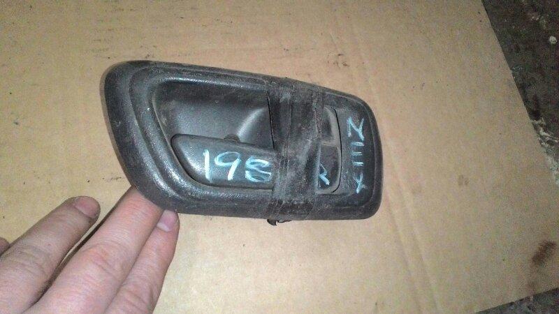 Ручка двери внутренняя Toyota Caldina ST198 3S FE передняя правая