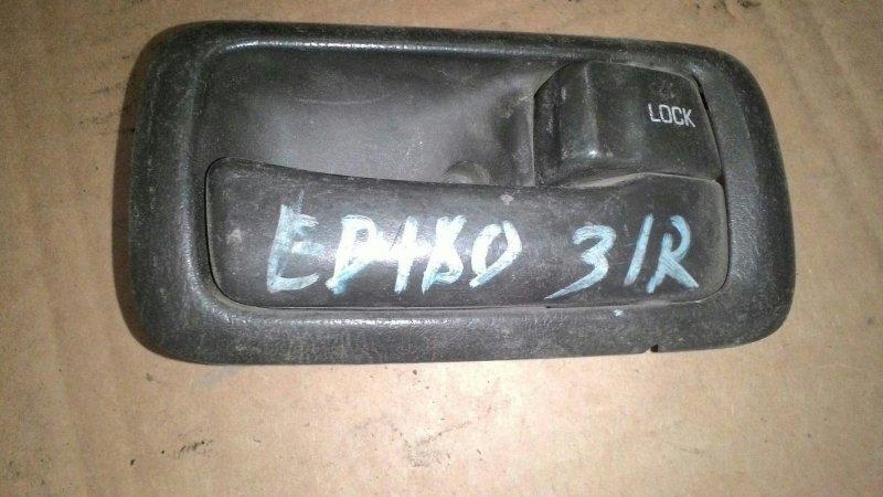 Ручка двери внутренняя Toyota Carina Ed ST182 4SFE задняя правая