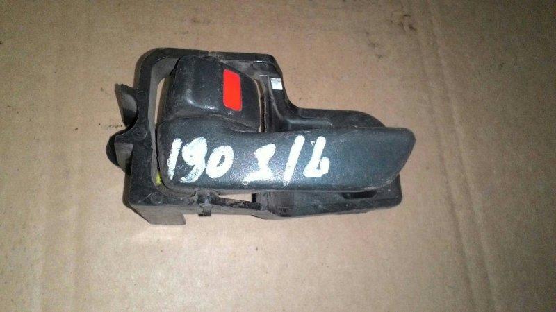 Ручка двери внутренняя Toyota Caldina ST198 3S FE задняя левая