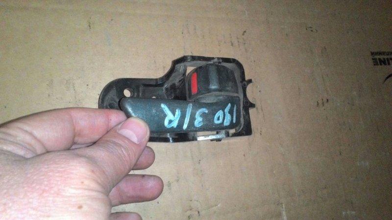 Ручка двери внутренняя Toyota Caldina ST198 3S FE задняя правая