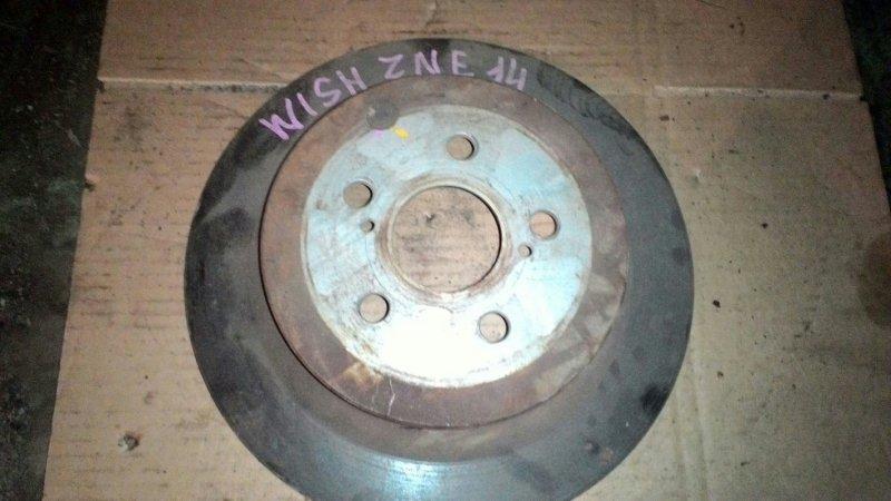Тормозной диск Toyota Wish ZNE14 задний