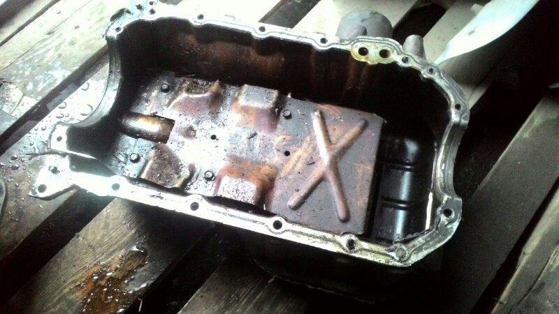 Поддон двигателя Hyundai Tucson JM G6BA