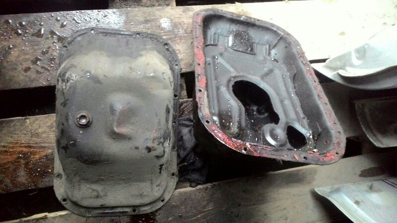 Поддон двигателя Toyota Duet M100A EJ-VE