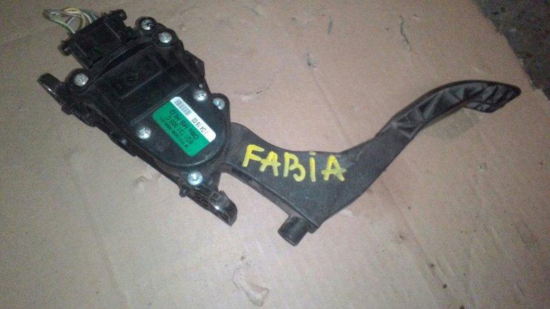 Педаль акселератора Skoda Fabia 6Y3 BBY