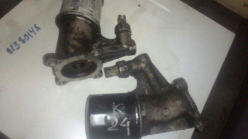 Корпус масляного фильтра Nissan Presage U30 K24
