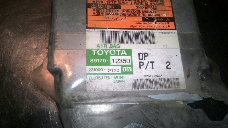 Блок управления airbag Toyota Corolla Fielder NZE121 1NZFE