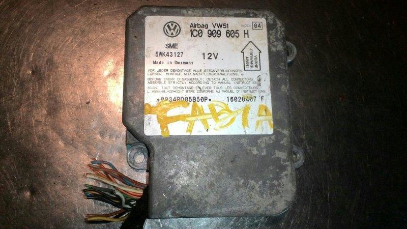 Блок управления airbag Skoda Fabia 6Y3 BBY