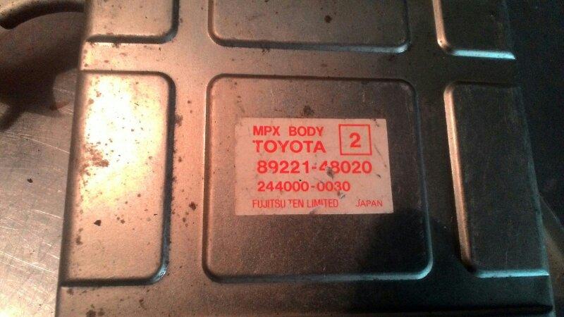 Блок управления двс Toyota Harrier 1MZ-FE