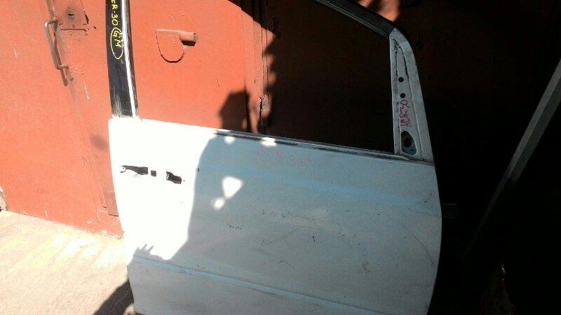 Дверь боковая Toyota Estima ACR40 2AZ-FE передняя правая
