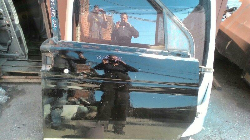 Дверь боковая Mazda Bongo Friendee SGLW WLT передняя правая