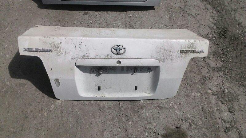Крышка багажника Toyota Corolla АЕ110 5A-FE