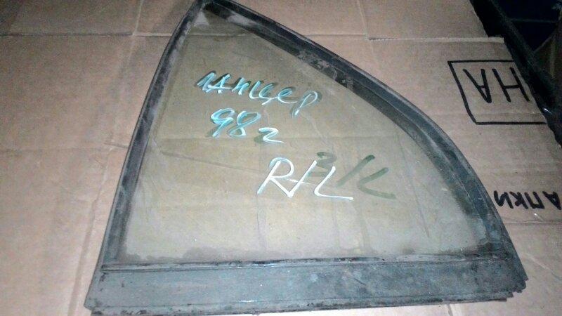 Форточка двери Mitsubishi Lancer СК2А 4G15 задняя левая