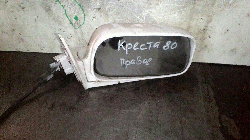 Зеркало Toyota Cresta GX81 1GFE правое