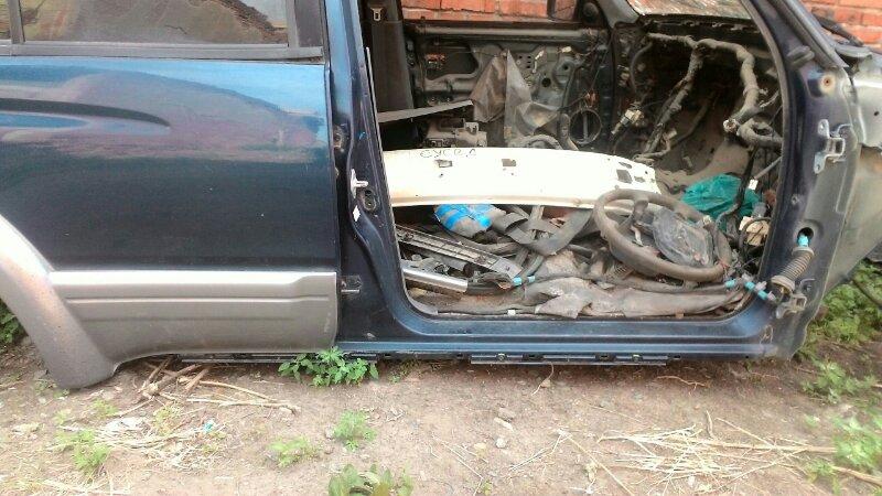 Дверь боковая Toyota Hilux Surf KZN185 1KZTE задняя правая