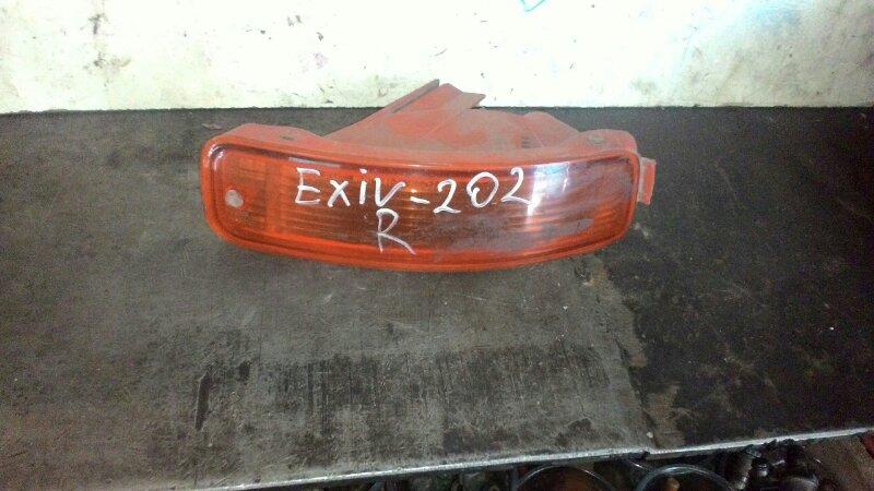 Повторитель в бампер Toyota Exiv ST202 3S FE правый