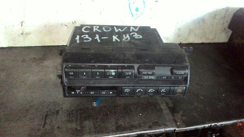 Блок управления климат-контролем Toyota Crown GZS131 1GGZE