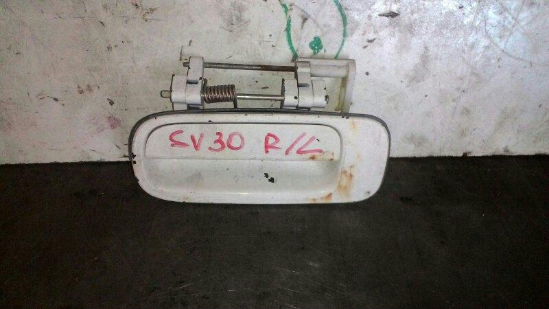 Ручка двери наружняя Toyota Vista SV30 3S FE задняя левая