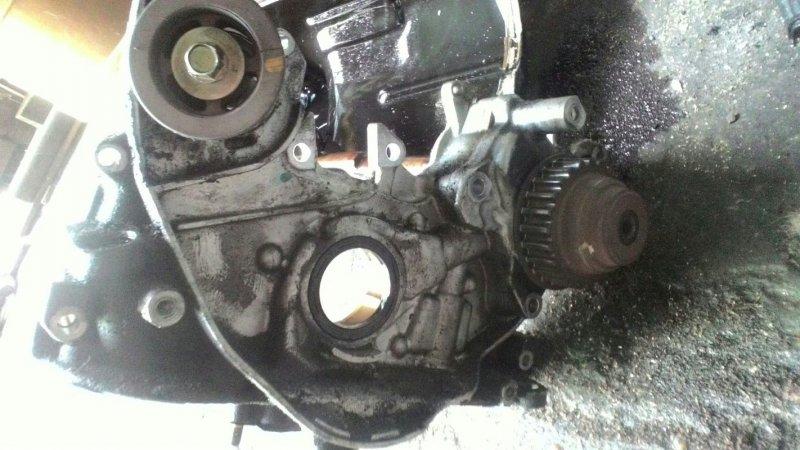 Масляный насос Honda Accord CF4 F20B SIR