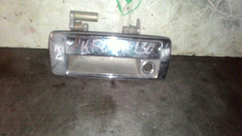 Ручка двери наружняя Toyota Crown GZS131 1GGZE передняя левая