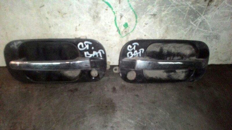 Ручка двери наружняя Honda Stepwgn RF2 B20B передняя левая