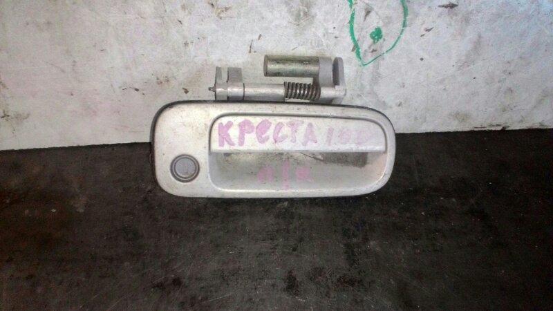 Ручка двери наружняя Toyota Cresta GX100 1GFE передняя правая
