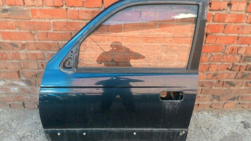 Дверь боковая Toyota Hilux Surf KZN185 1KZTE передняя левая