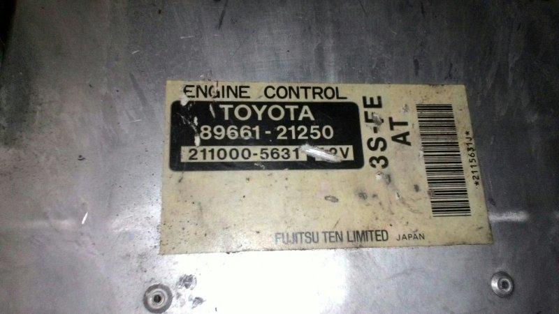 Блок управления двс Toyota Camry SV40 3SFE