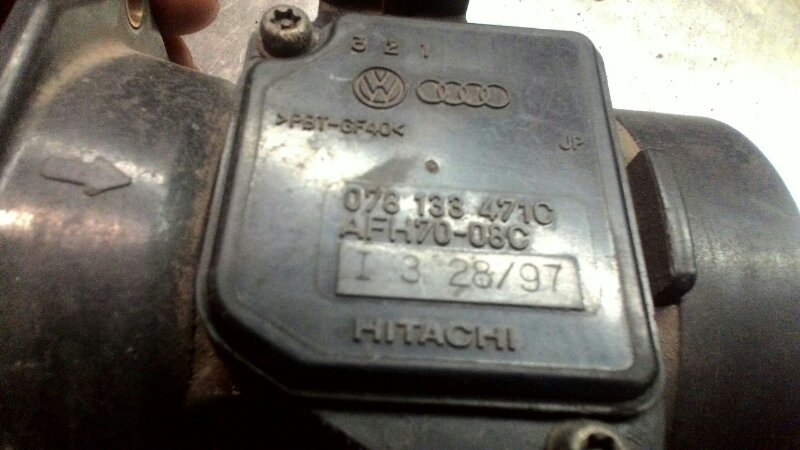 Датчик расхода воздуха Audi A4 B5