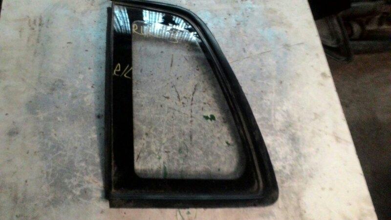 Стекло собачника Mitsubishi Rvr N23W 4G63 заднее левое
