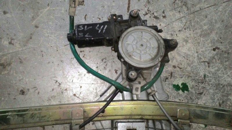 Стеклоподъемный механизм Toyota Vista SV40 3S FE задний левый