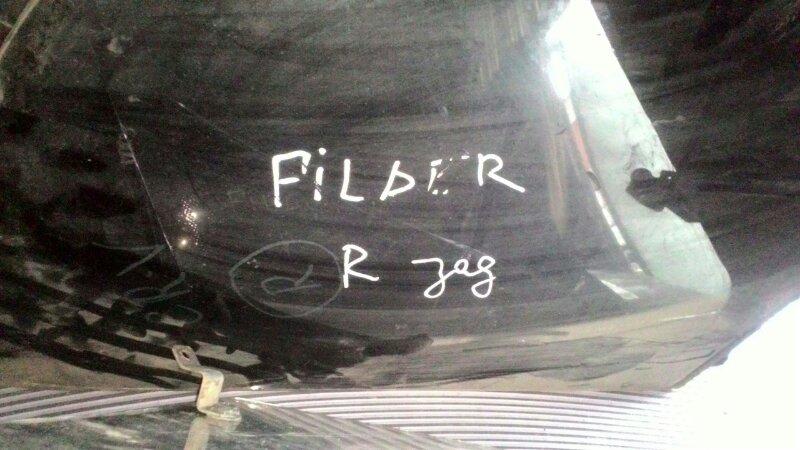 Стекло собачника Toyota Corolla Fielder NZE121 1NZ-FE заднее правое