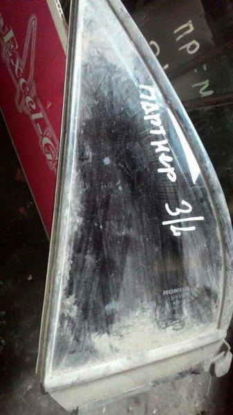 Форточка двери Honda Partner EY7 D15B задняя левая
