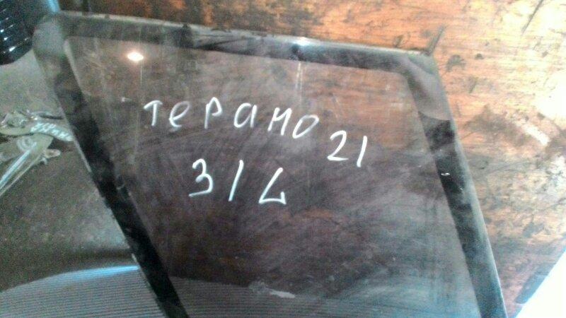 Стекло собачника Nissan Terrano Y21 TD 27 заднее левое