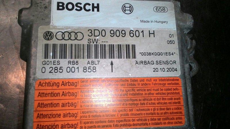 Блок управления airbag Volkswagen Touareg 7L6 BMX 3 2