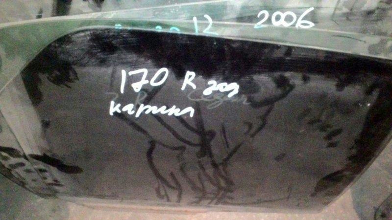 Стекло двери Toyota Carina AT170 5A-FE заднее правое