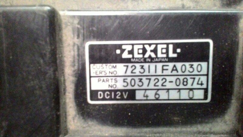 Блок управления климат-контролем Subaru Impreza GF1 EJ15