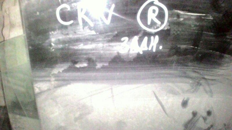 Стекло двери Honda Cr-V RD1 B20B заднее правое