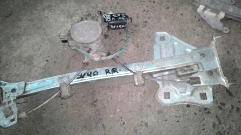 Стеклоподъемный механизм Toyota Vista SV40 3S FE задний правый